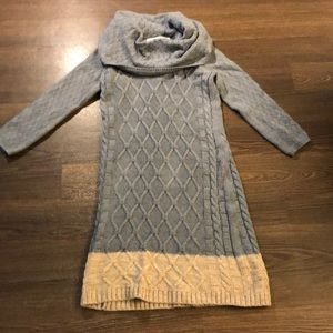 Anthropologie Sparrow Cable Knit Sweater Dress XS
